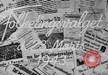 Image of election day Denmark, 1943, second 3 stock footage video 65675069944
