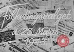 Image of election day Denmark, 1943, second 4 stock footage video 65675069944