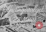 Image of election day Denmark, 1943, second 5 stock footage video 65675069944