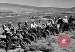 Image of motorcycle hill climbing Wenatchee Washington USA, 1946, second 2 stock footage video 65675069955