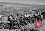Image of motorcycle hill climbing Wenatchee Washington USA, 1946, second 4 stock footage video 65675069955