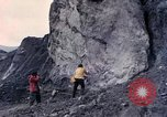 Image of geologists Washington Mount Saint Helens USA, 1980, second 1 stock footage video 65675069960