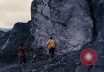 Image of geologists Washington Mount Saint Helens USA, 1980, second 2 stock footage video 65675069960