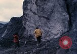 Image of geologists Washington Mount Saint Helens USA, 1980, second 3 stock footage video 65675069960