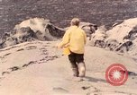 Image of geologists Washington Mount Saint Helens USA, 1980, second 1 stock footage video 65675069962