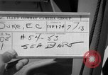 Image of F2Y Sea Dart San Diego Bay California USA, 1953, second 5 stock footage video 65675069985