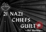 Image of Nuremberg Trials Nuremberg Germany, 1946, second 2 stock footage video 65675069997