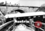 Image of train wreck Austria, 1952, second 2 stock footage video 65675070001