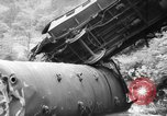 Image of train wreck Austria, 1952, second 11 stock footage video 65675070001
