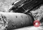 Image of train wreck Austria, 1952, second 12 stock footage video 65675070001