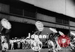 Image of welcome dance Japan, 1952, second 1 stock footage video 65675070002