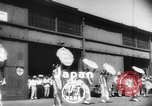 Image of welcome dance Japan, 1952, second 2 stock footage video 65675070002