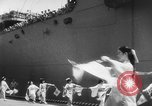Image of welcome dance Japan, 1952, second 7 stock footage video 65675070002