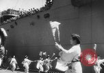 Image of welcome dance Japan, 1952, second 9 stock footage video 65675070002
