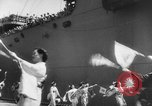 Image of welcome dance Japan, 1952, second 10 stock footage video 65675070002