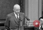 Image of Dwight Eisenhower Washington DC USA, 1958, second 1 stock footage video 65675070007