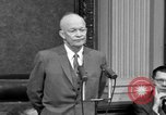 Image of Dwight Eisenhower Washington DC USA, 1958, second 2 stock footage video 65675070007