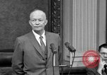 Image of Dwight Eisenhower Washington DC USA, 1958, second 3 stock footage video 65675070007