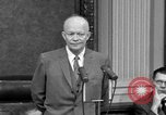 Image of Dwight Eisenhower Washington DC USA, 1958, second 4 stock footage video 65675070007