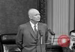 Image of Dwight Eisenhower Washington DC USA, 1958, second 6 stock footage video 65675070007