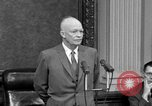 Image of Dwight Eisenhower Washington DC USA, 1958, second 9 stock footage video 65675070007