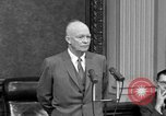 Image of Dwight Eisenhower Washington DC USA, 1958, second 11 stock footage video 65675070007