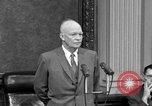 Image of Dwight Eisenhower Washington DC USA, 1958, second 12 stock footage video 65675070007