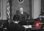 Image of Dwight Eisenhower speaks about Camp David Washington DC USA, 1959, second 8 stock footage video 65675070011