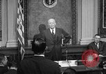 Image of Dwight Eisenhower speaks about Camp David Washington DC USA, 1959, second 9 stock footage video 65675070011