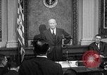 Image of Dwight Eisenhower speaks about Camp David Washington DC USA, 1959, second 10 stock footage video 65675070011