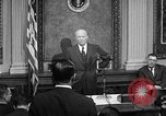 Image of Dwight Eisenhower speaks about Camp David Washington DC USA, 1959, second 11 stock footage video 65675070011