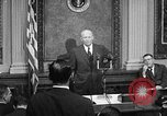 Image of Dwight Eisenhower speaks about Camp David Washington DC USA, 1959, second 12 stock footage video 65675070011