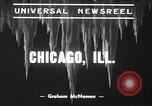 Image of snow storm Chicago Illinois USA, 1939, second 8 stock footage video 65675070054