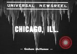 Image of snow storm Chicago Illinois USA, 1939, second 10 stock footage video 65675070054