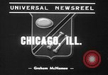 Image of pet crow Chicago Illinois USA, 1939, second 2 stock footage video 65675070058