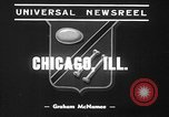 Image of pet crow Chicago Illinois USA, 1939, second 3 stock footage video 65675070058