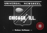 Image of pet crow Chicago Illinois USA, 1939, second 4 stock footage video 65675070058