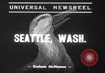 Image of duck racing Seattle Washington USA, 1939, second 8 stock footage video 65675070060
