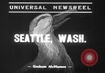 Image of duck racing Seattle Washington USA, 1939, second 9 stock footage video 65675070060