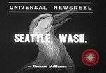Image of duck racing Seattle Washington USA, 1939, second 10 stock footage video 65675070060