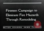 Image of fire campaign United States USA, 1935, second 1 stock footage video 65675070081