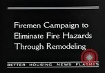 Image of fire campaign United States USA, 1935, second 7 stock footage video 65675070081