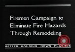 Image of fire campaign United States USA, 1935, second 8 stock footage video 65675070081