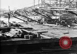 Image of 106th Engineers constructing a warehouse Brest France, 1918, second 2 stock footage video 65675070083
