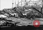 Image of 106th Engineers constructing a warehouse Brest France, 1918, second 6 stock footage video 65675070083