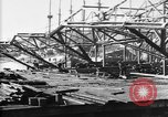 Image of 106th Engineers constructing a warehouse Brest France, 1918, second 7 stock footage video 65675070083