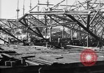 Image of 106th Engineers constructing a warehouse Brest France, 1918, second 9 stock footage video 65675070083