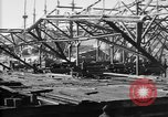 Image of 106th Engineers constructing a warehouse Brest France, 1918, second 10 stock footage video 65675070083