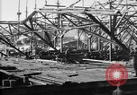 Image of 106th Engineers constructing a warehouse Brest France, 1918, second 11 stock footage video 65675070083