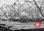 Image of 106th Engineers constructing a warehouse Brest France, 1918, second 12 stock footage video 65675070083